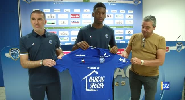 Canal 32 - Ligue 2 : Dylan Saint-Louis veut se relancer sous le maillot de l'Estac
