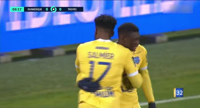 Canal 32 - Football L2, Retour en vidéo sur la rencontre Dunkerque - Estac