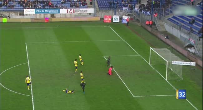 Canal 32 - Football L2 : Retour en vidéo sur le match Sochaux - Estac