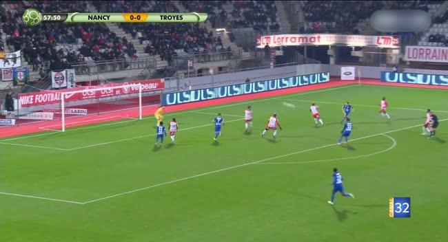 Canal 32 - Football L2, Retour sur le match Nancy - Estac en vidéo