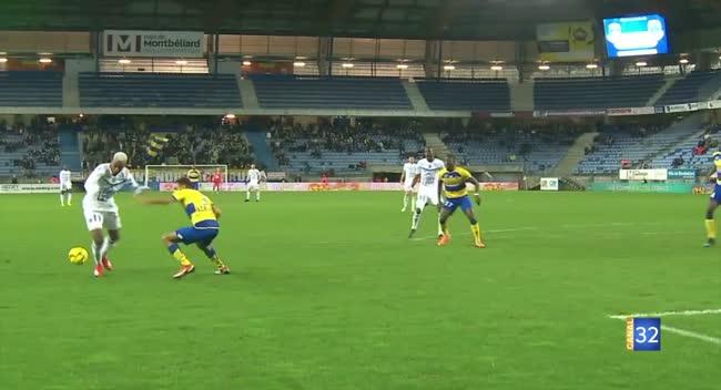 Canal 32 - Ligue 2 : retour sur le match nul de l'Estac à Sochaux. Vidéo.