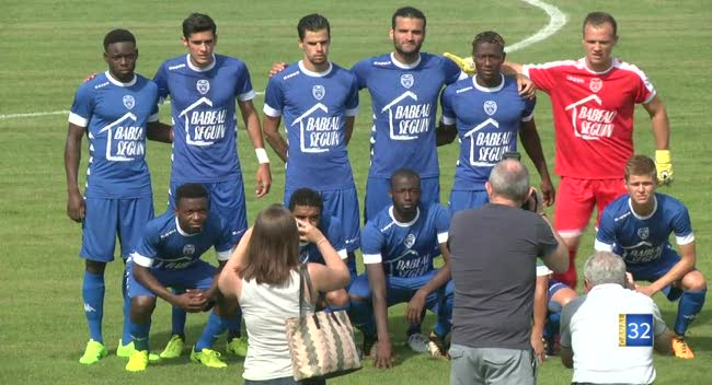 Canal 32 - Football, l'Estac chute contre l'UNFP : 0-1