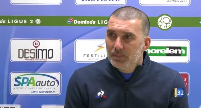 Canal 32 - Football : l'Estac prépare son match au Mans dans un contexte particulier