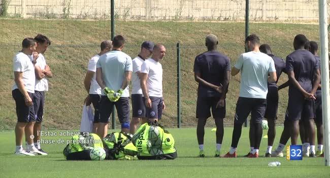 Canal 32 - Football : l'Estac prête pour l'ouverture du championnat