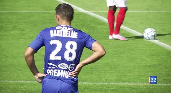 Canal 32 - Football : l'Estac s'incline face au Stade de Reims