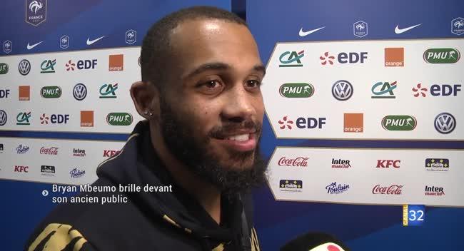 Canal 32 - Football : retour réussi pour Bryan Mbeumo au Stade de l'Aube. Vidéo.