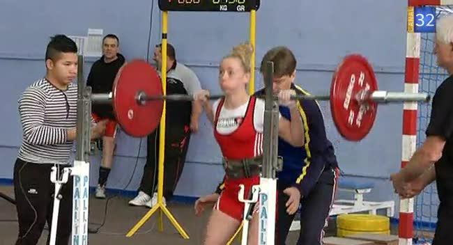 Canal 32 - Force athlétique: aussi fortes que les hommes!