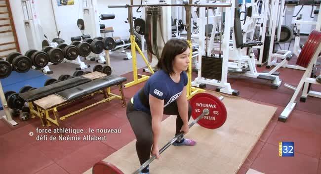 Canal 32 - Force athlétique : le nouveau défi de Noémie Allabert