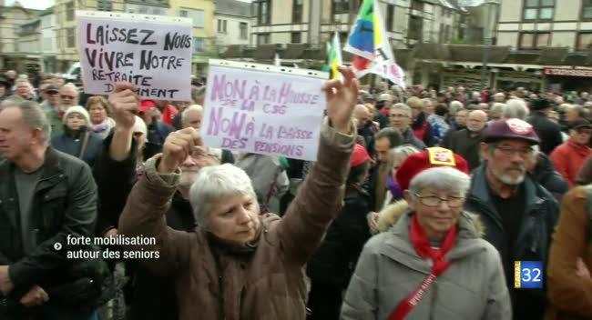 Canal 32 - Troyes : la forte mobilisation autour des seniors