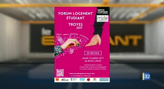 Canal 32 - Forum logement étudiant : un rendez-vous gratuit !