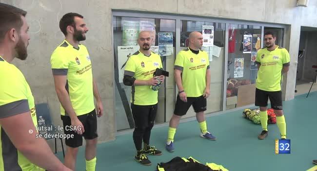 Canal 32 - Futsal : première saison réussie pour le CSAG