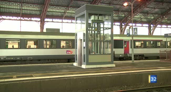 Canal 32 - Gare de Troyes : des ascenseurs pour accéder aux quais