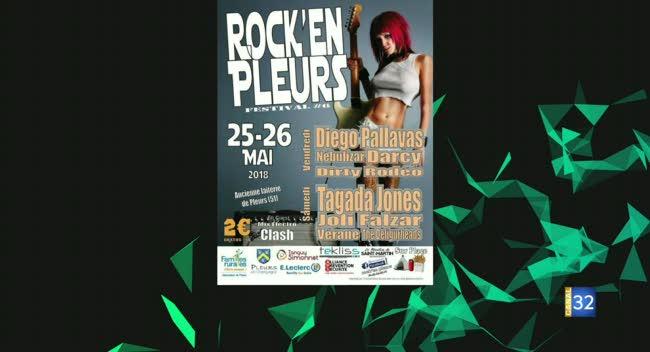 Canal 32 - Génération Y : la 6ème édition du festival Rock'En Pleurs (partie 1)