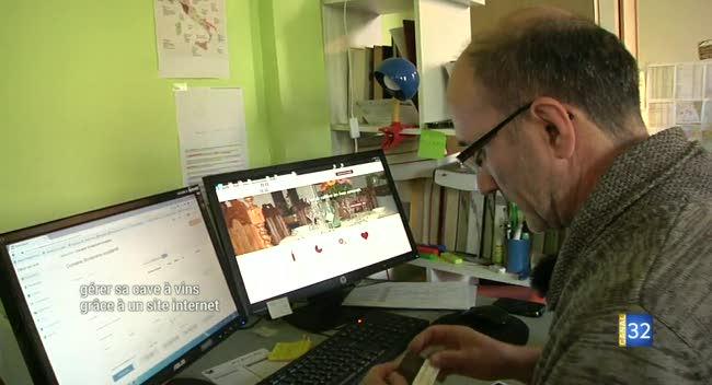 Canal 32 - Gérer sa cave à vins grâce à un site web : l'idée d'une start-up troyenne