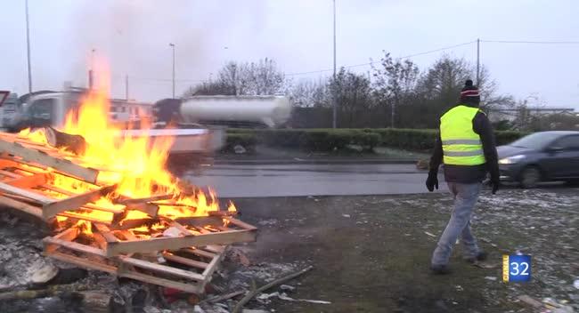 Canal 32 - Gilets Jaunes : la mobilisation se poursuit ce mardi dans l'Aube