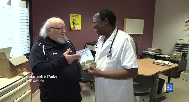 Canal 32 - Claude Félix sort son nouveau livre, inspiré du Rwanda