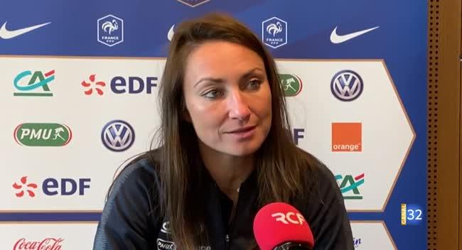 Canal 32 - Grand Format : Gaëtane Thiney, une Auboise au mondial de football féminin