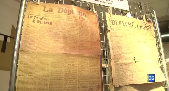Canal 32 - Grand Format : Le journal La Dépêche de l'Aube célèbre ses 100 ans