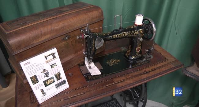 Canal 32 - Grand Format : 100 ans de machine à coudre en exposition à Romilly-sur-Seine