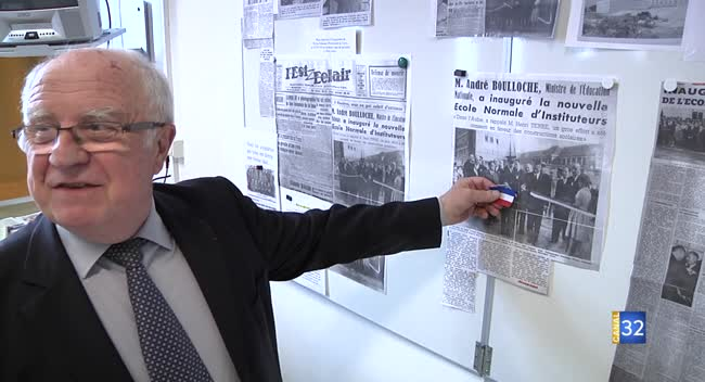 Canal 32 - Grand Format : Les anciens élèves de l'école normale d'instituteurs se retrouvent 60 ans après