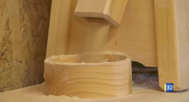 Canal 32 - Grand Format : Paisy-Cosdon, une farine faite maison par un agriculteur céréalier.
