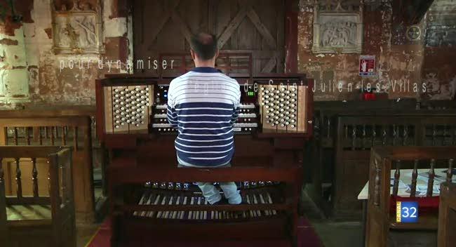 Canal 32 - Grand format - un orgue pour dynamiser l'église de St Julien Les Villas