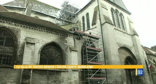 Canal 32 - Grand Format : les travaux de l'église Sainte-Madeleine