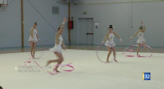 Canal 32 - Gymnastique Rythmique: l'AGT reçoit les conseils de 2 championnes