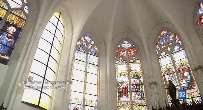 Canal 32 - Hampigny : la restauration de l'église est achevée