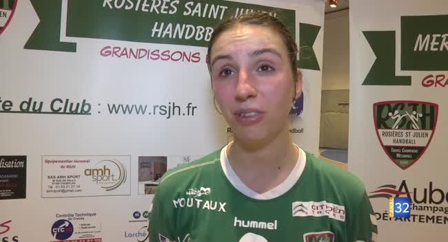 Canal 32 - Handball N2 : le RSJH cède dans les dernières secondes face à Strasbourg : 23-24