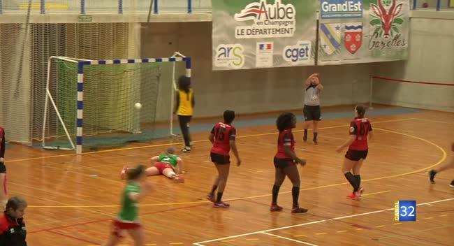 Canal 32 - Handball N2, le RSJH et Sainte-Maure/Troyes dos à dos dans un derby bouillant : 26-26