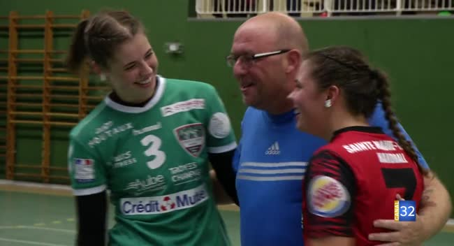 Canal 32 - Handball N2 : les valeurs de la famille Adams