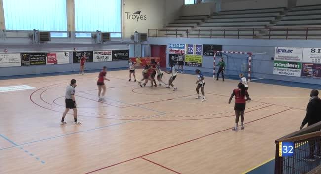 Canal 32 - Handball N2 : reprise difficile pour Sainte-Maure/Troyes face au Kremlin : 27-21