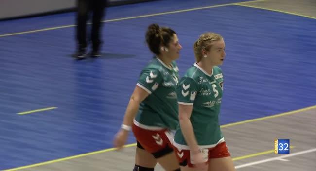 Canal 32 - Handball N2, Rosières/St Julien frôle la correctionnelle devant Aulnay : 24-22