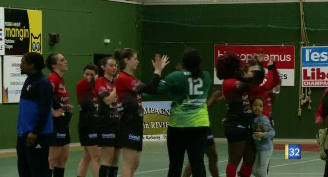 Canal 32 - Handball N2, Ste Maure/Troyes enregistre sa deuxième victoire d'affilée