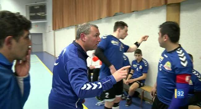 Canal 32 - Handball N3, Romilly cède en 2ème mi-temps face à Maisons Alfort : 19-27