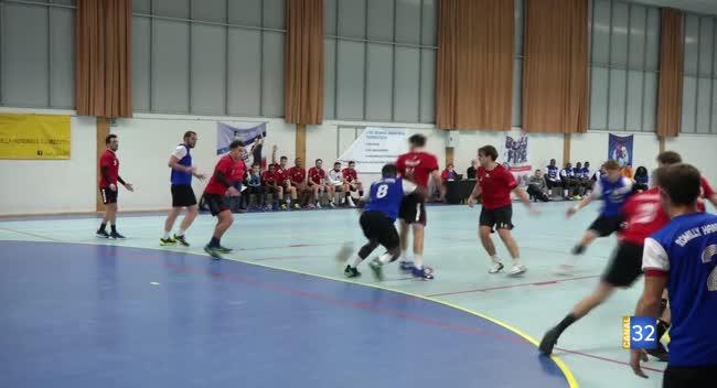 Canal 32 - Handball N3 : Romilly échoue d'un souffle face à Paris : 22-23