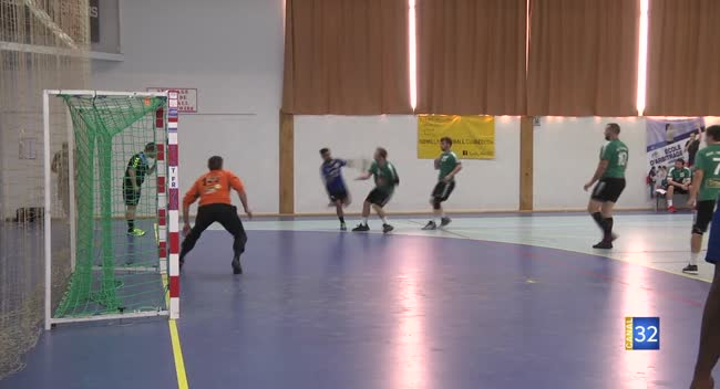 Canal 32 - Handball N3, Romilly un peu tendre pour Longvic : 26-33