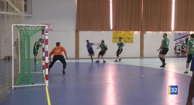 Canal 32 - Handball N3, Romilly un peu tendre pour Longvic : 26-33