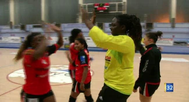 Canal 32 - Handball, Sainte-Maure/Troyes retrouve des couleurs face à Colmar : 27-24