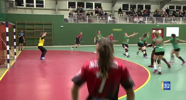 Canal 32 - Handball, Ste Maure/Troyes l'emporte avec difficulté devant Flavigny : 28-20