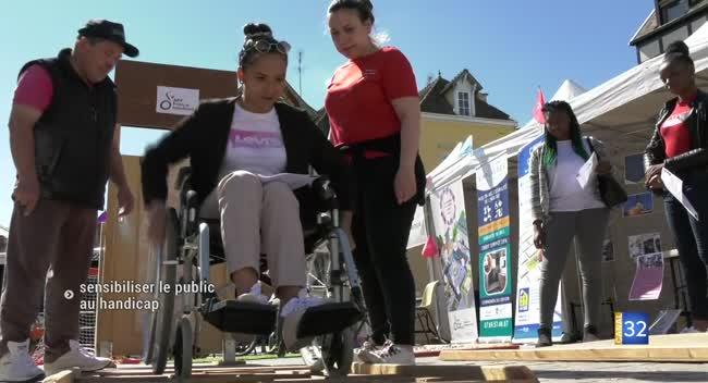 Canal 32 - Handi Troyes : sensibiliser le grand public au handicap sous toutes ses formes