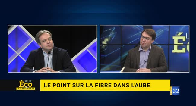 Canal 32 - L'Heure Eco - avec le DG d'Orange Grand Nord-est, Ludovic Guilcher