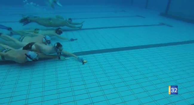 Canal 32 - Hockey Subaquatique : le Neptune de Nogent-sur-Seine émerge de nouveau