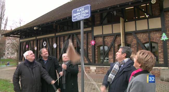 Canal 32 - La conseillère municipale troyenne Danièle Cousu honorée d'une place à son nom