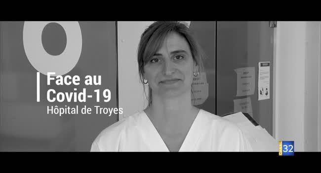 Canal 32 - Hôpital de Troyes : portrait d'une infirmière du service de réanimation
