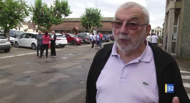 Canal 32 - Bar-sur-Seine : la réaction de Marcel Hurillon, maire sortant