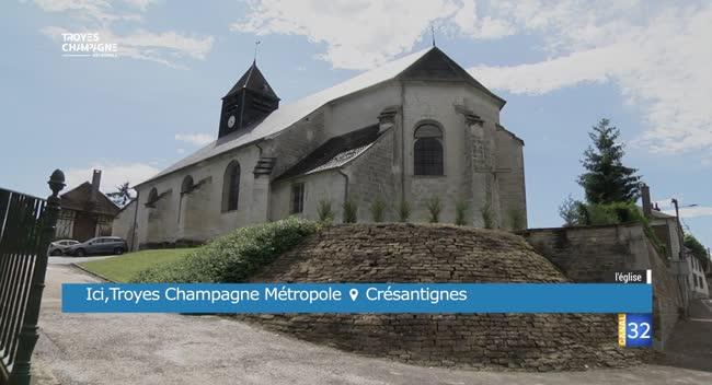 Canal 32 - Ici TCM - Crésantignes