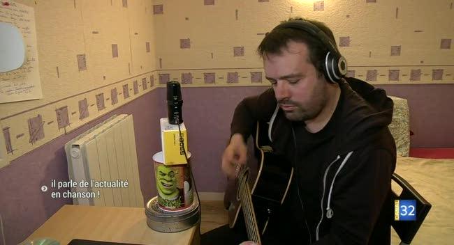 Canal 32 - Troyes : Gildas Marronnier parle de l'actualité en chanson !