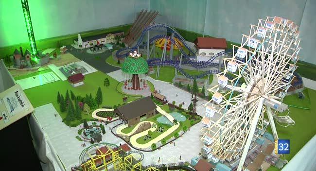 Canal 32 - Les attractions de Nigloland en maquette : bienvenue à Nicoland !